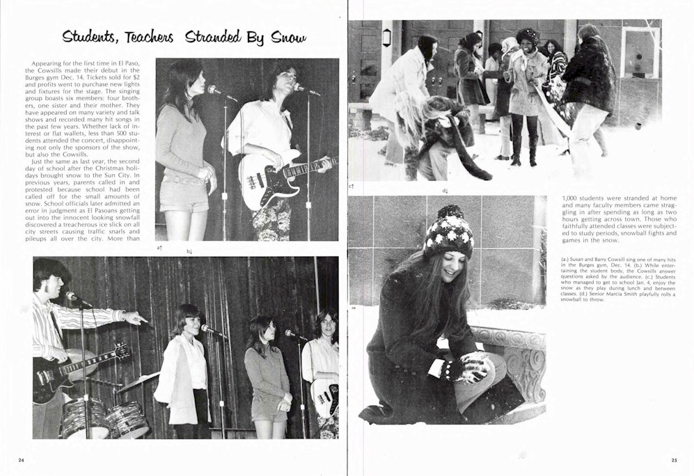 The Cowsills In Yearbooks