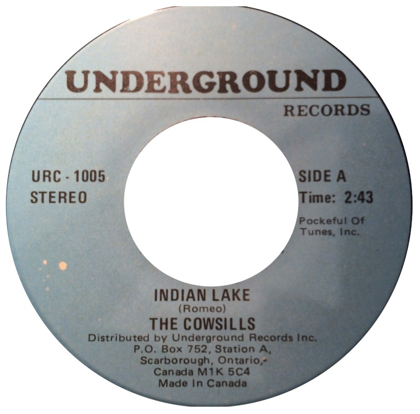 The Cowsills Cowsill Labels